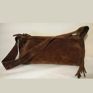 Giovanni Conti Chocolate Brown Handbag